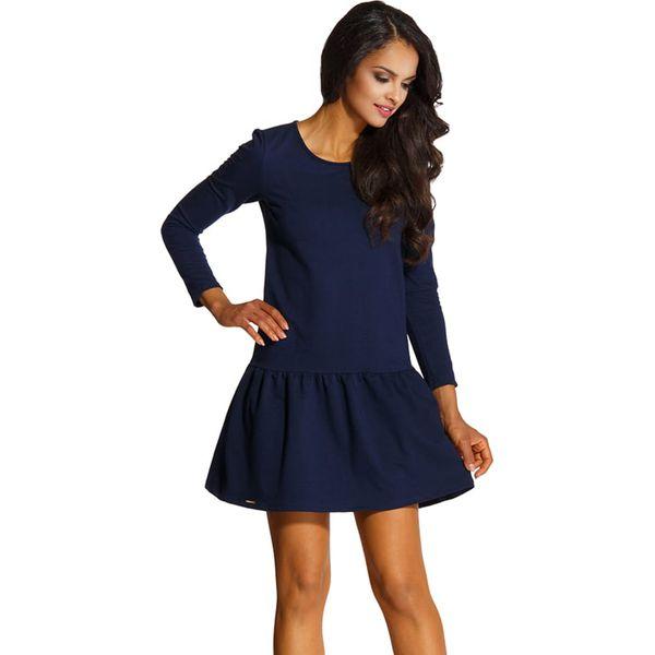 322b7b6a31 Sukienka w kolorze granatowym - Niebieskie sukienki marki Lemoniade ...