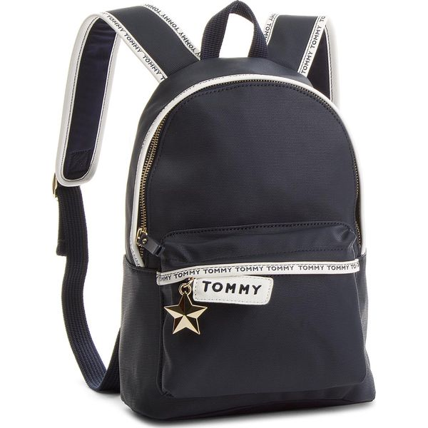 3e82565ae6c73 Plecak TOMMY HILFIGER - Th Logo Tape Mini Backpack AW0AW05088 413 ...