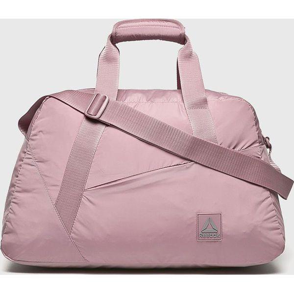 5d1204ec5a34f Reebok - Torba - Szare torby na ramię marki Reebok, w paski, z ...
