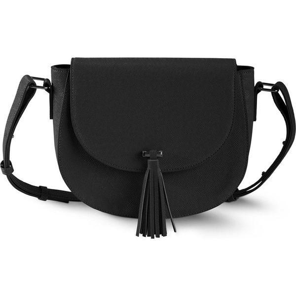 9e7ae7c98072c Torebka na ramię bonprix czarny - Czarne torebki klasyczne marki ...