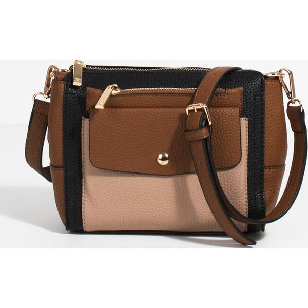 42f1fca6f4db0 Parfois - Torebka - Brązowe torby na ramię marki Parfois