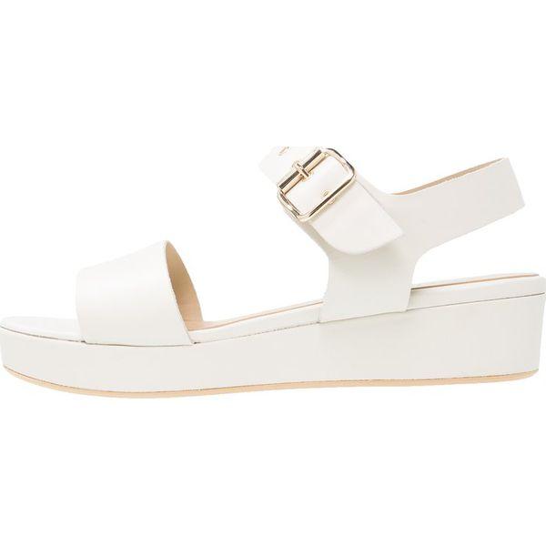W Ultra Hobbs SELMA Sandały na platformie white - Białe sandały marki PE47