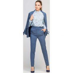 5f2c53097d komplety damskie spodnie i marynarka - zobacz wybrane produkty. Niebieskie  Eleganckie ...