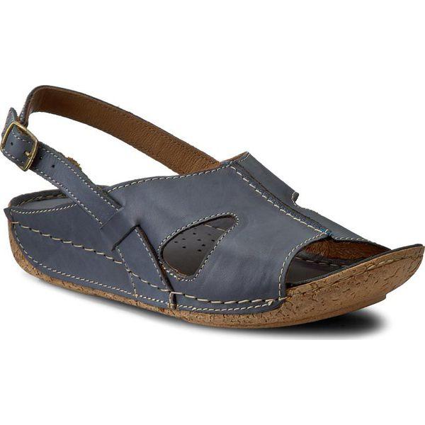 sandały lasocki jeansowe