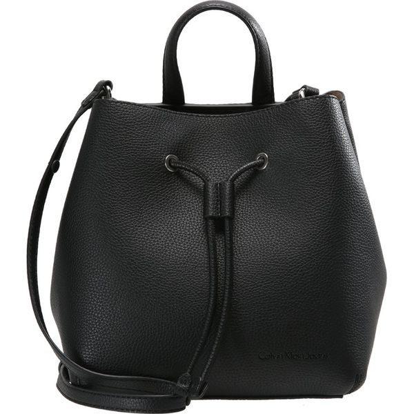 678d4512836d0 Calvin Klein Jeans Torebka black - Czarne torebki klasyczne marki ...
