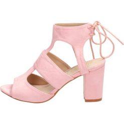 318f48f7 Różowe sandały damskie SABATINA DM19-22 SŁUPEK. Sandały Sabatina. W  wyprzedaży za 99.00