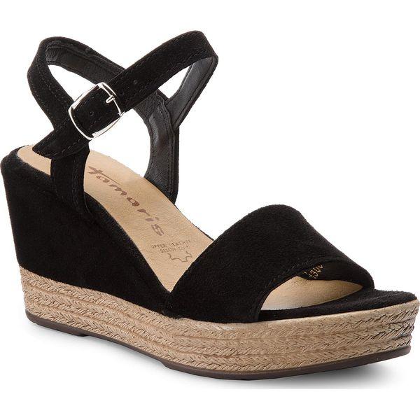 f019334da25a2 Sandały TAMARIS - 1-28362-20 Black 001 - Sandały marki Tamaris. W ...