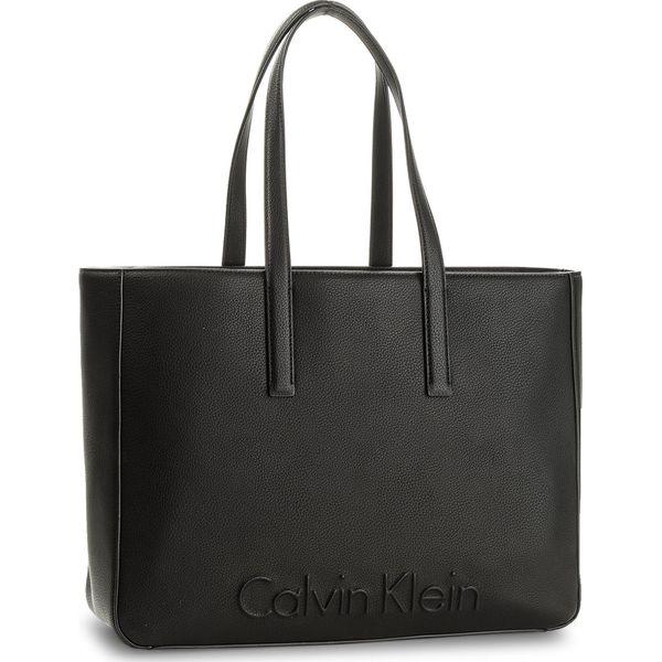 7e6c0a626963d Torebka CALVIN KLEIN BLACK LABEL - Edge Large Shopper K60K603991 001 ...