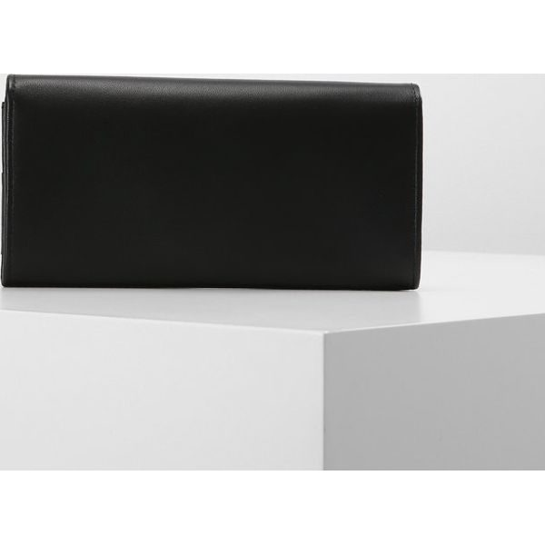 37524372fcf2f Calvin Klein Jeans LOGO POP LONG Portfel black - Czarne portfele ...