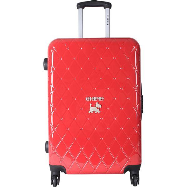 c324fd74f7447 Walizka w kolorze czerwonym - 71 l - Czerwone walizki marki Chipie ...