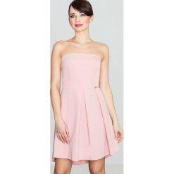 32ecbb068c sukienka na slub cywilny sklep internetowy - zobacz wybrane produkty.  Elegancka Różowa Gorsetowa Sukienka z Dłuższym Tyłem. Sukienki marki  Molly.pl.