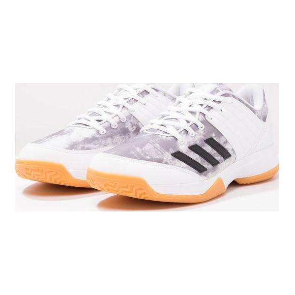 adidas Performance LIGRA 5 Obuwie do siatkówki biały Obuwie
