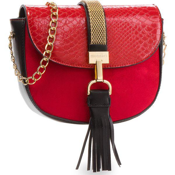 ca38baed23685 Torebka MONNARI - BAG8060-005 Red - Czerwone torebki klasyczne marki ...