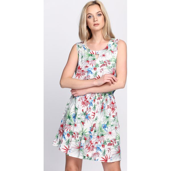 034cba0944 Biała Sukienka Make Over - Białe sukienki marki Born2be