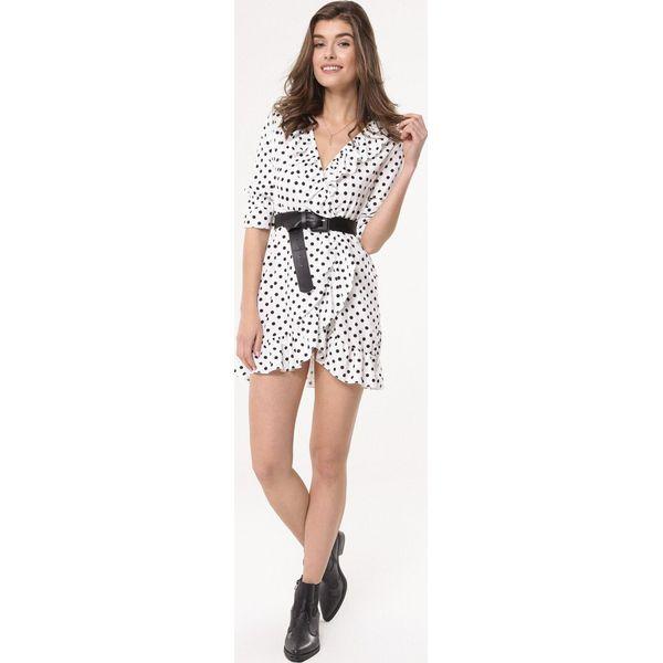 a4f873b5bf Biała Sukienka Aftershock - Białe sukienki marki Born2be