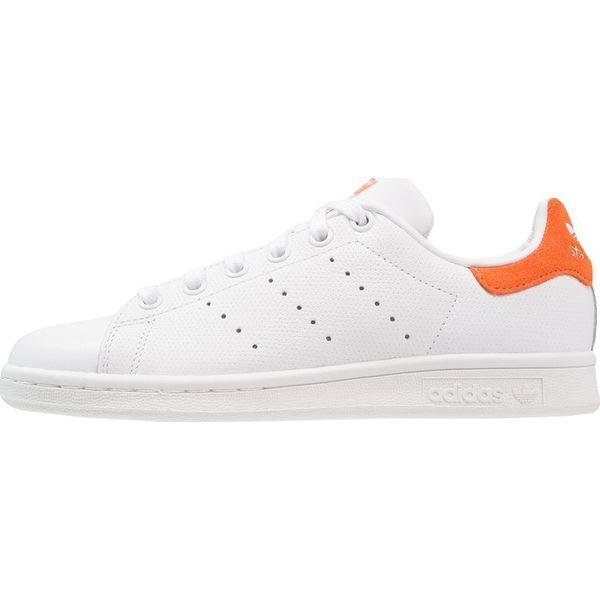 adidas Originals STAN SMITH Tenisówki i Trampki footwear whitetrace orange
