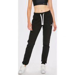 bcd2fa8671b1cf Czarne spodnie dresowe Fila, m, bez wzorów, z bawełny ...