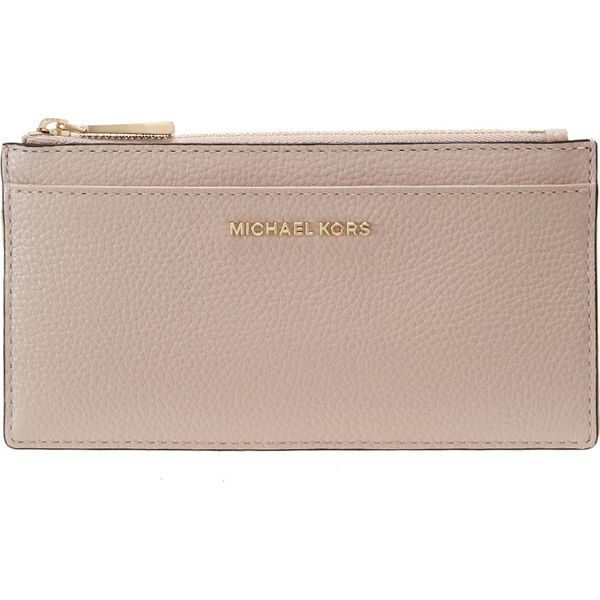 d5a77303d8317 MICHAEL Michael Kors MONEY PIECES SLIM CARD CASE Portfel soft pink ...