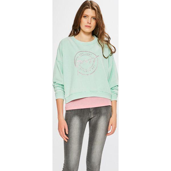 3210d650a3e57 Guess Jeans - Bluza - Szare bluzy sportowe marki Guess Jeans