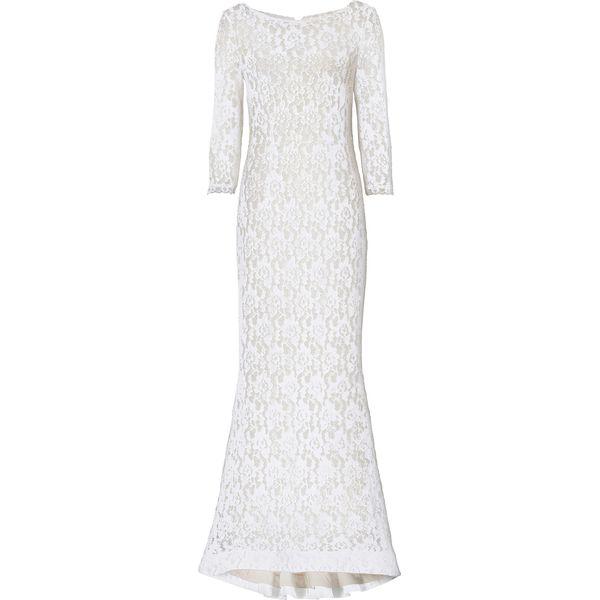 531c9e05c Sukienka bonprix biały - Białe sukienki bonprix, w koronkowe wzory ...