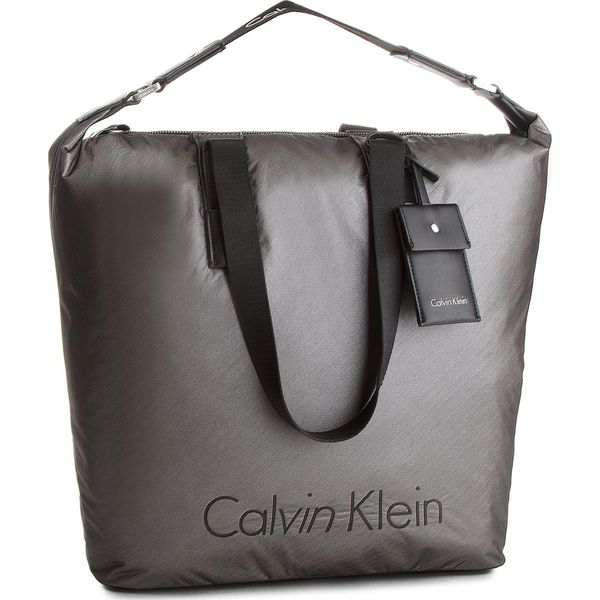 b9e6c7e92 Torebka CALVIN KLEIN BLACK LABEL - City Nylon Shopper K60K604239 702 ...