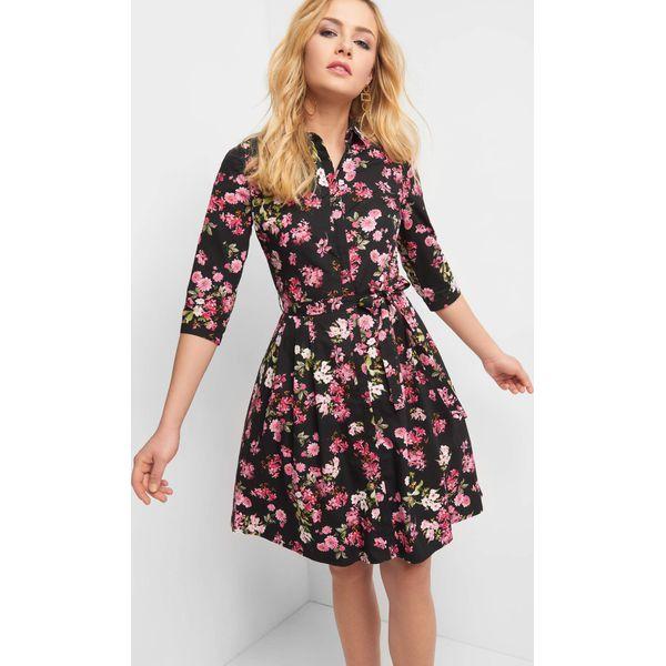 8732dab400 Rozkloszowana sukienka w kwiaty - Sukienki marki Orsay. Za 159.99 zł ...