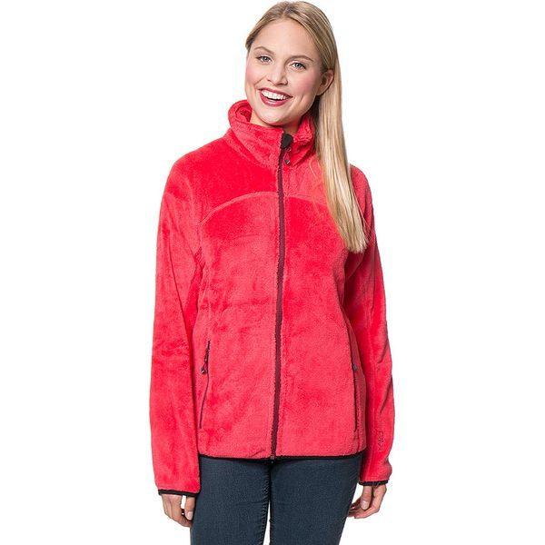 e60799b9d9 Bluza polarowa w kolorze różowym - Czerwone bluzy marki CMP