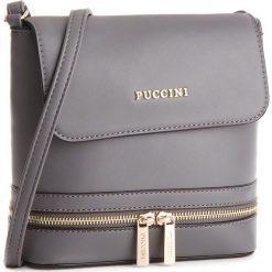 acfd6a950af0f Torebka PUCCINI - BT18498 Grey 4. Szare listonoszki marki Puccini. W  wyprzedaży za 109.00