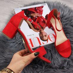 Sandały MANITU 920219 Rot 4