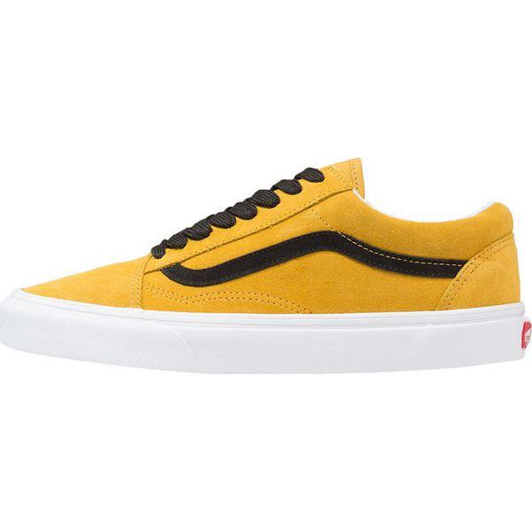 vans old skool żółte