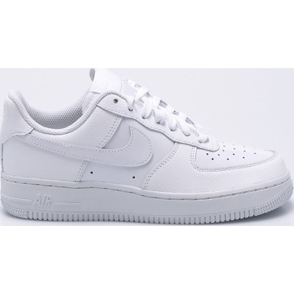 5b54713b Nike Sportswear - Buty Air Force - Szare obuwie sportowe Nike ...