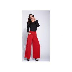 104ba3544 Spodnie materiałowe damskie szerokie nogawki - Spodnie materiałowe ...