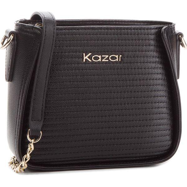 9e4e4e79 Torebka KAZAR - Arisa 33219-01-00 Black - Czarne torebki klasyczne ...