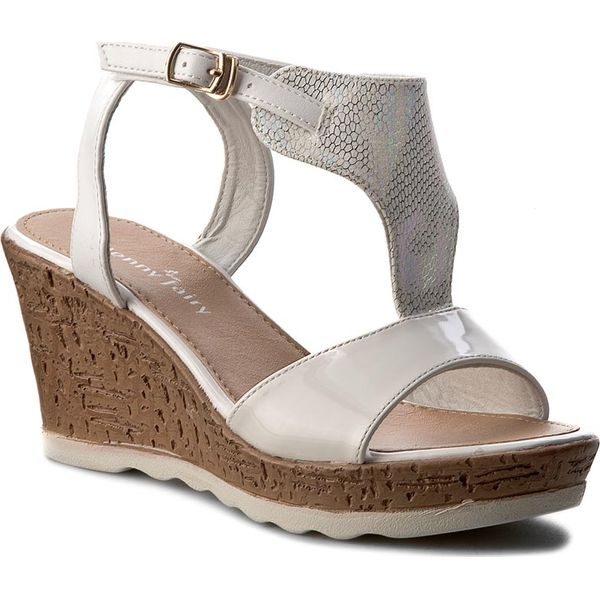000f5df014642 Sandały JENNY FAIRY - W17SS576-2 Biały - Białe sandały marki Jenny ...