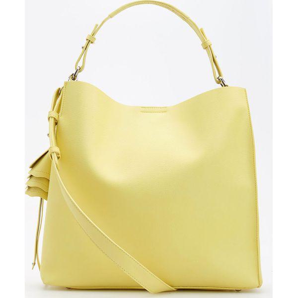 013177b060e40 Torba z paskiem na ramię - Żółty - Żółte torby na ramię marki ...