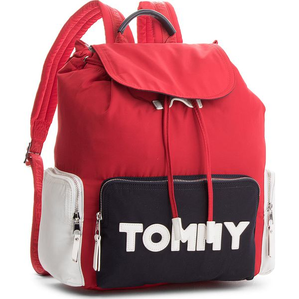 0e308584aa232 Plecak TOMMY HILFIGER - Tommy Nylon Backpack AW0AW04958 901 ...