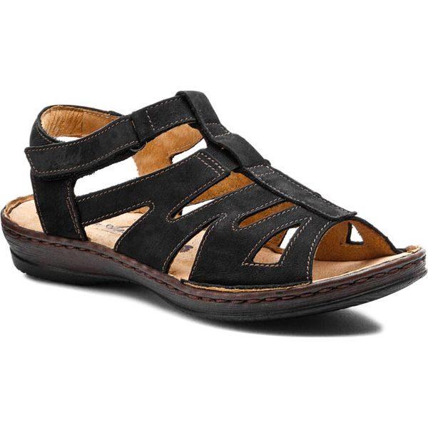 Sandały AXEL 2162 Czarny Samuel