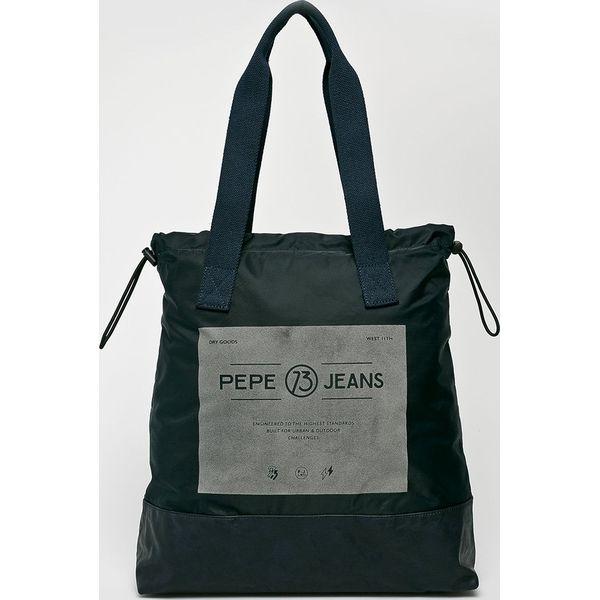 184c99f35d3735 Pepe Jeans - Torba - Szare torby na ramię Pepe Jeans, z bawełny, na ...