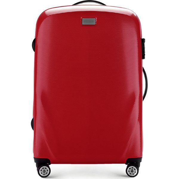 afba49007c537 Walizka średnia 56-3P-572-30 - Czerwone walizki marki Wittchen ...