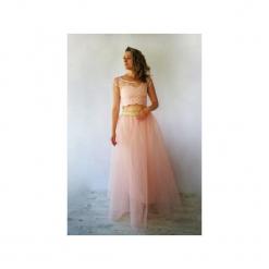 073ed5ddff GABRIELA DŁUGA TIULOWA SUKIENKA RÓŻOWA NA WESELE. Sukienki marki Meleksima.  Za 383.36 zł.