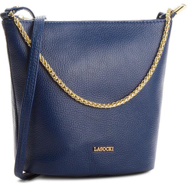 21538cda0fd3a Torebka LASOCKI - VS4340 Niebieski Ciemny - Niebieskie torebki ...