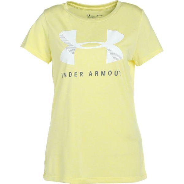 ekskluzywny asortyment online tutaj super słodki Under Armour TECH GRAPHIC TWIST Tshirt z nadrukiem tokyo lemon