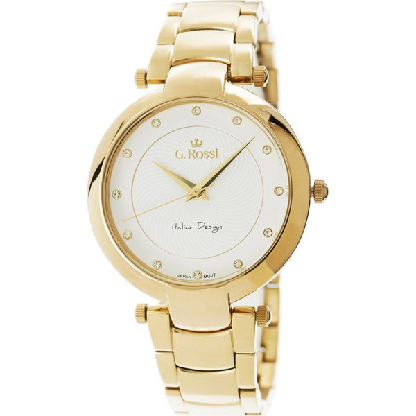 02483487ee8c8 Zegarek Gino Rossi damski Diria złoty (11382-3D1) - Żółte zegarki ...