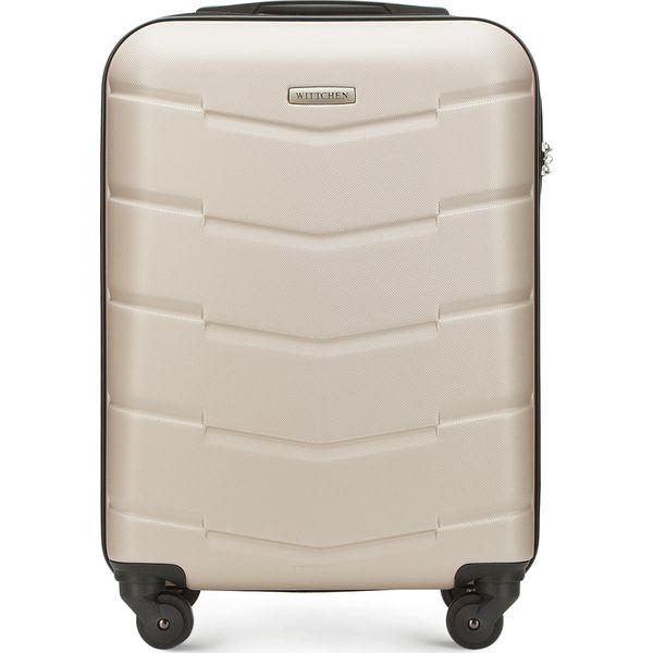 392567d10dca1 Walizka kabinowa 56-3A-401-85 - Brązowe walizki marki Wittchen, małe ...