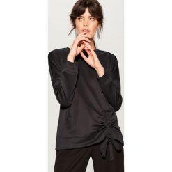 64607a9dc0 tanie modne bluzy damskie - zobacz wybrane produkty. -67%. Bluza damska ze  ściągaczem - Czarny. Bluzy marki Mohito. W wyprzedaży za 29.99 zł