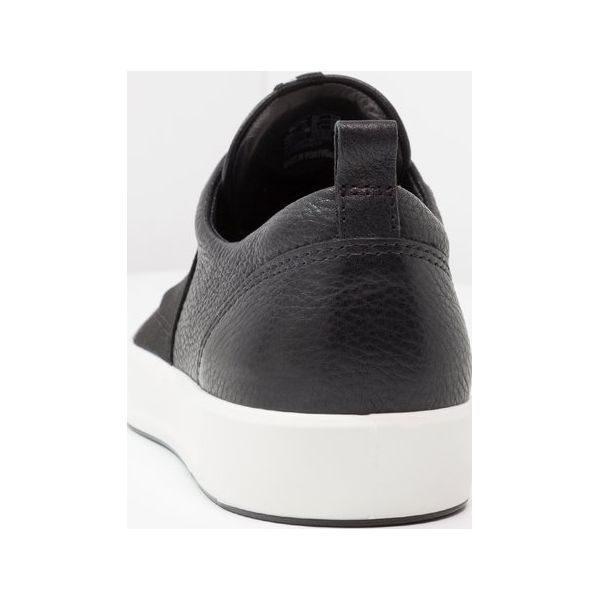 4011f47f ecco SOFT LADIES Półbuty wsuwane black - Półbuty wsuwane marki ecco ...