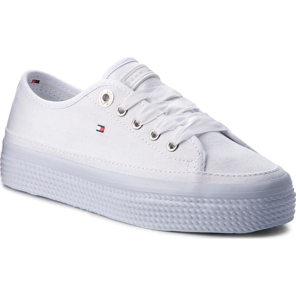 94f12977c9397 Tenisówki TOMMY HILFIGER - Pastel Flatform Sneaker Sneaker ...