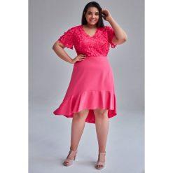 b0f279e08a Długie sukienki plus size - Sukienki - Kolekcja wiosna 2019 - Sklep ...