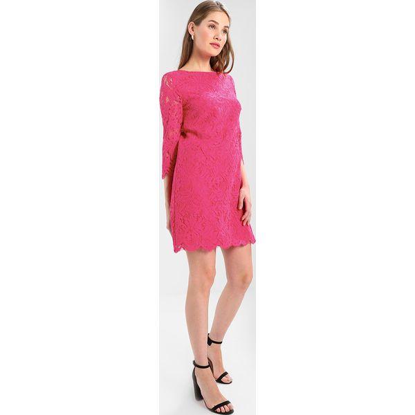 307df51dd8 comma KURZ Sukienka letnia pink - Czerwone sukienki marki comma
