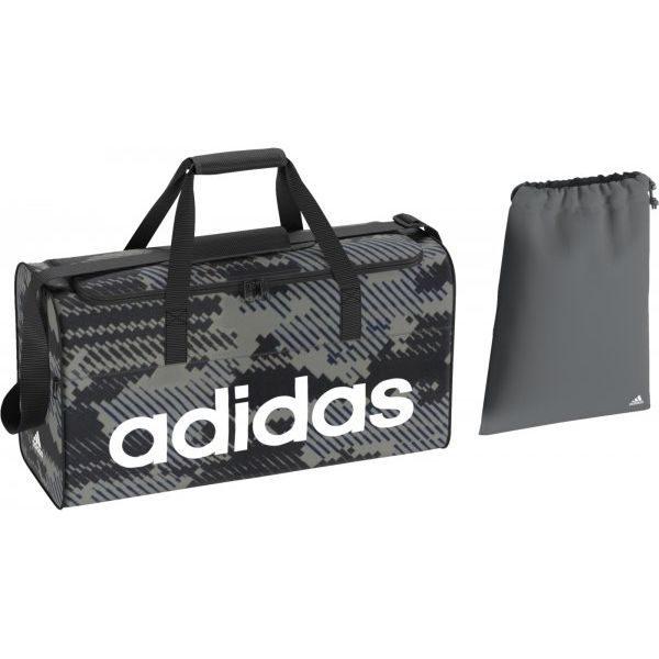 69a85aa28eac1 Adidas Torba Sportowa Lin Per Tb M Gr Vista Grey/Black/White M ...